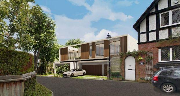 Contemporary Replacement House in the Royal Borough of Windsor & Maidenhead
